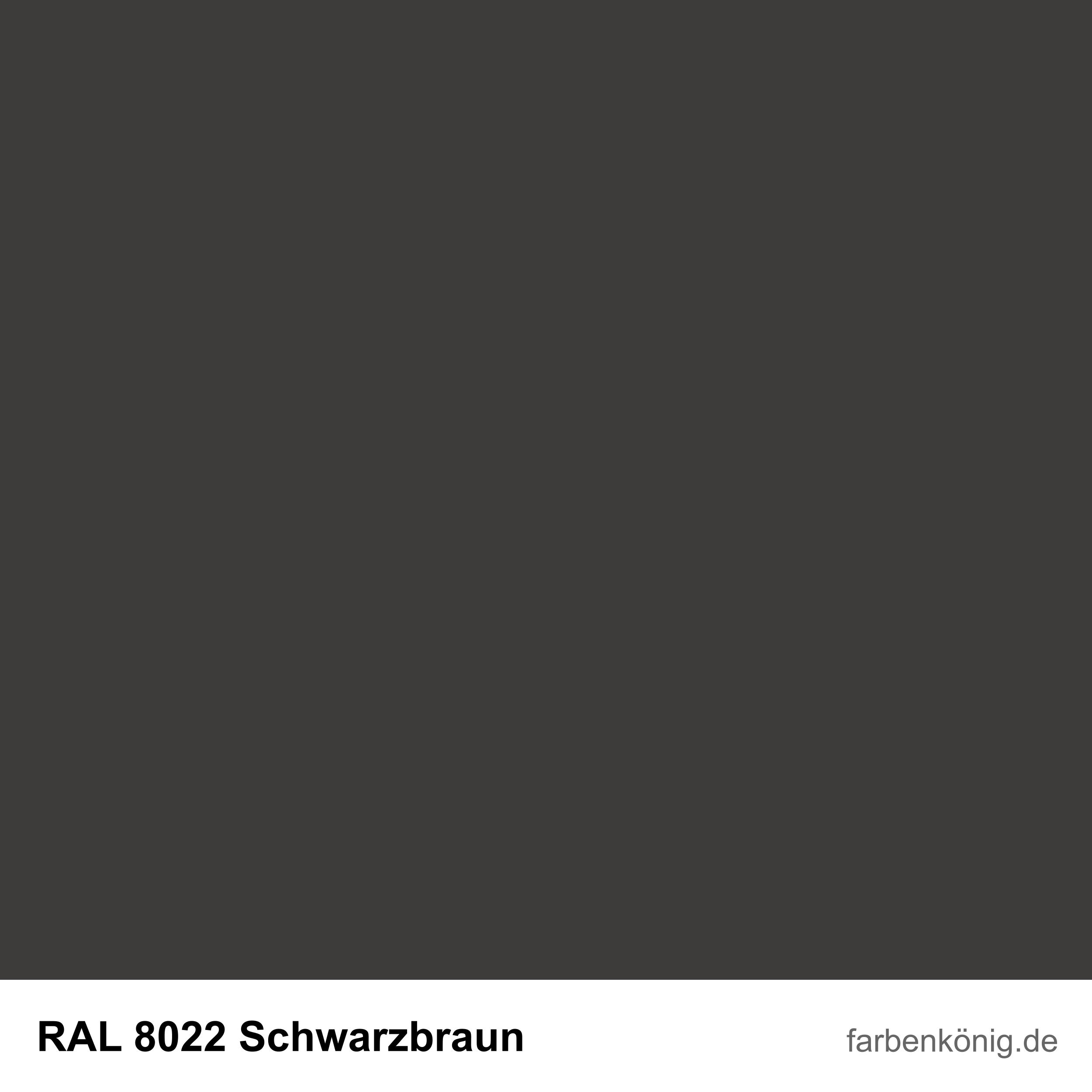 RAL8022