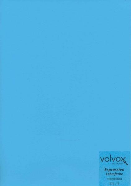 Volvox Espressivo Lehmfarbe - himmelblau