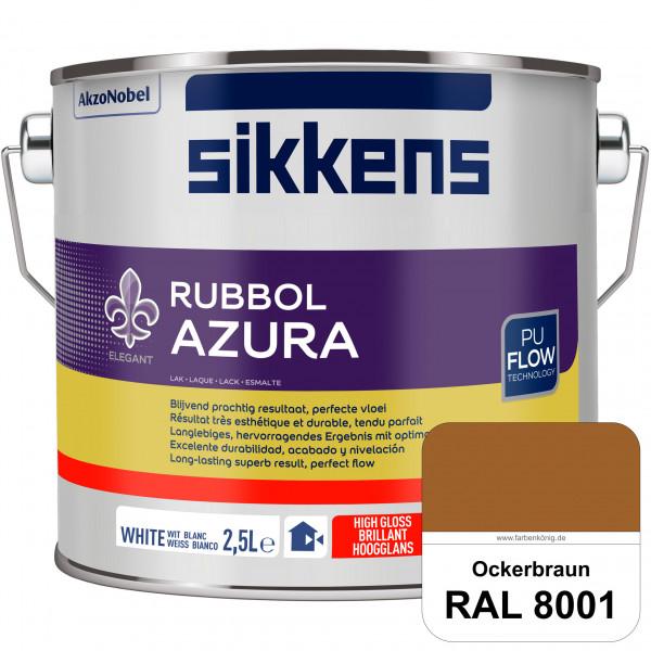 Rubbol Azura (RAL 8001 Ockerbraun) hochglänzender Lack (löselmittelhaltig) innen & außen