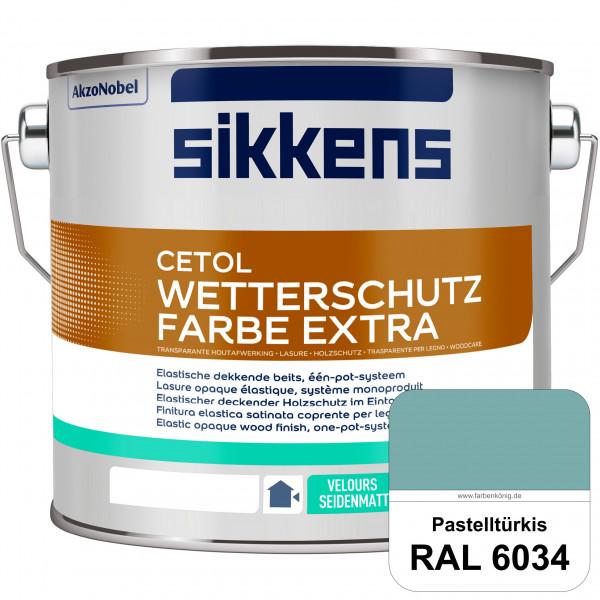 Cetol Wetterschutzfarbe Extra (RAL 6034 Pastelltürkis)