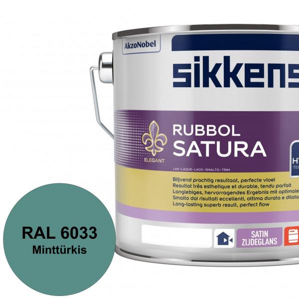 Herbolux Gloss (RAL 6033 Minttürkis) strapazierfähiger Top-Hochglanzlack (lösemittelhaltig) für inne