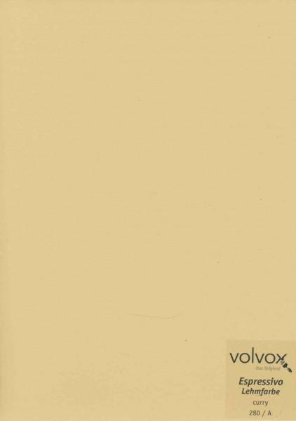 Volvox Espressivo Lehmfarbe - curry