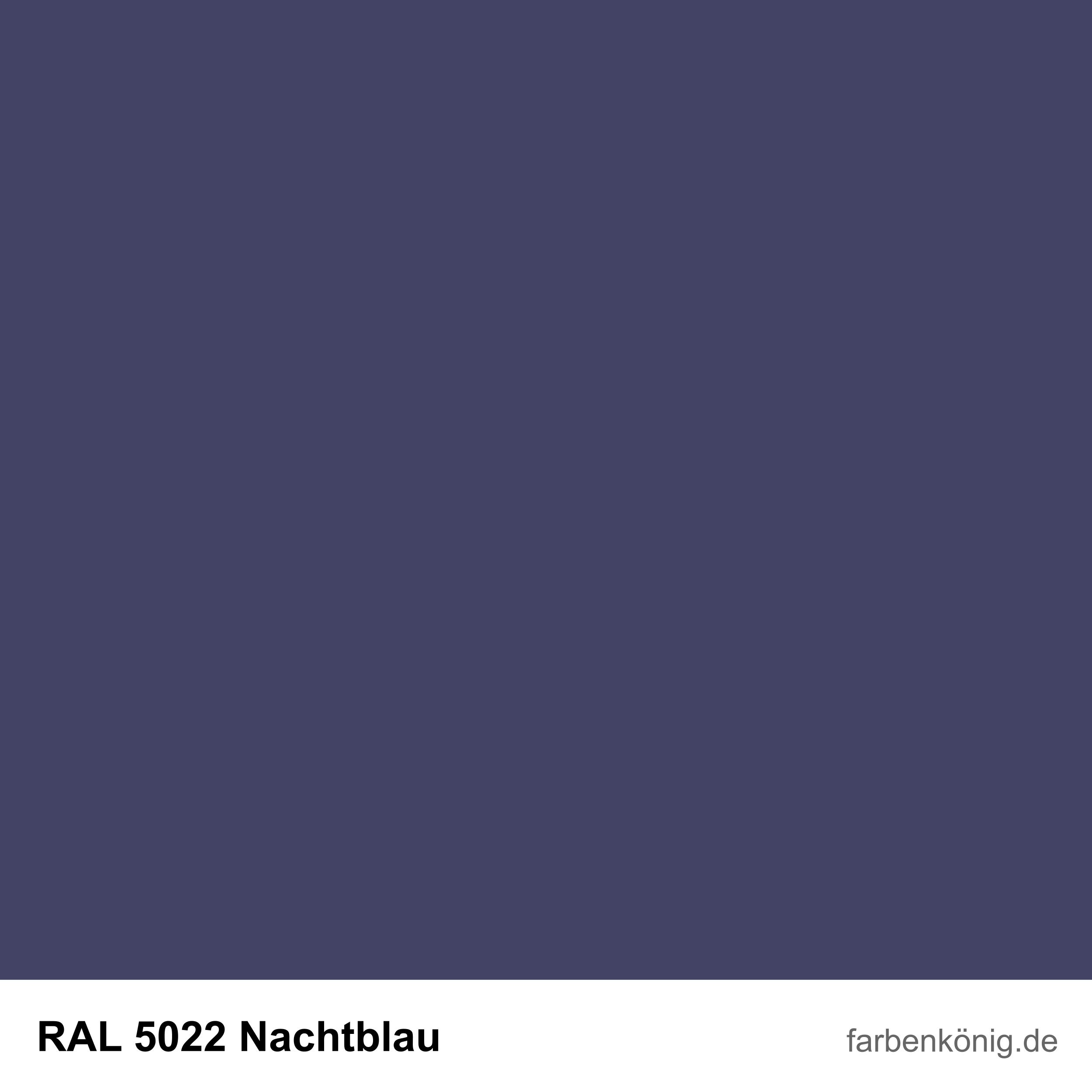 RAL5022