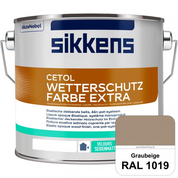 Cetol Wetterschutzfarbe Extra (RAL 1019 Graubeige)