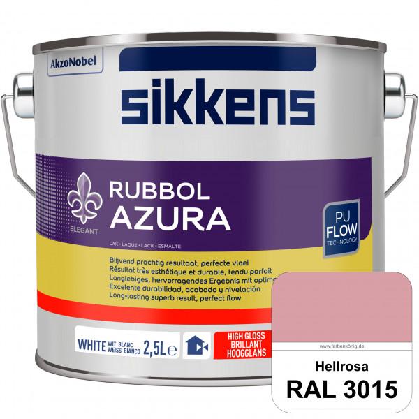 Rubbol Azura (RAL 3015 Hellrosa) hochglänzender Lack (löselmittelhaltig) innen & außen