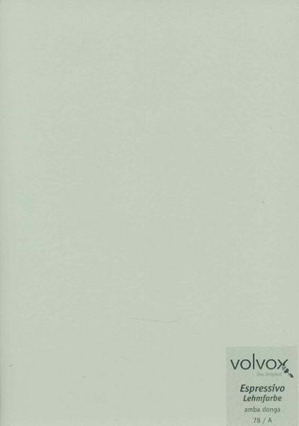 Volvox Espressivo Lehmfarbe - amba donga