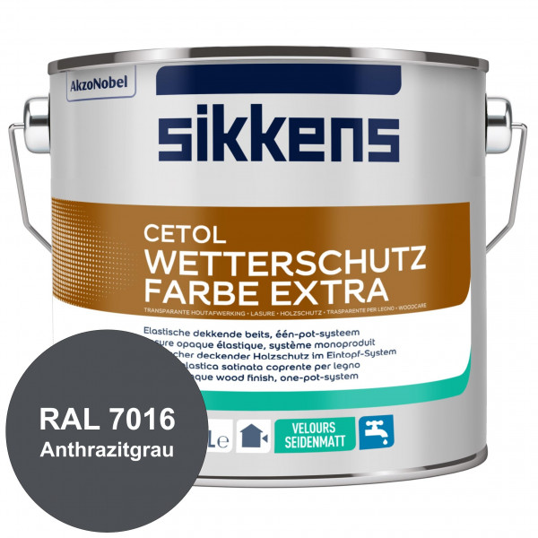Cetol Wetterschutzfarbe Extra (RAL 7016 Anthrazitgrau)