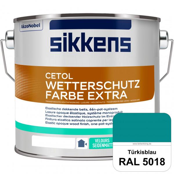 Cetol Wetterschutzfarbe Extra (RAL 5018 Türkisblau)