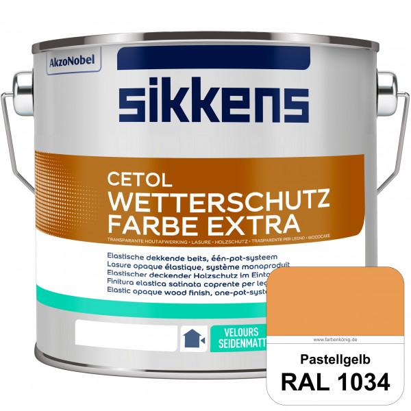 Cetol Wetterschutzfarbe Extra (RAL 1034 Pastellgelb)