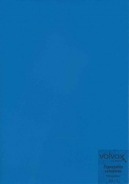 Volvox Espressivo Lehmfarbe - königsblau