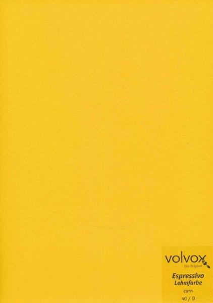 Volvox Espressivo Lehmfarbe - corn