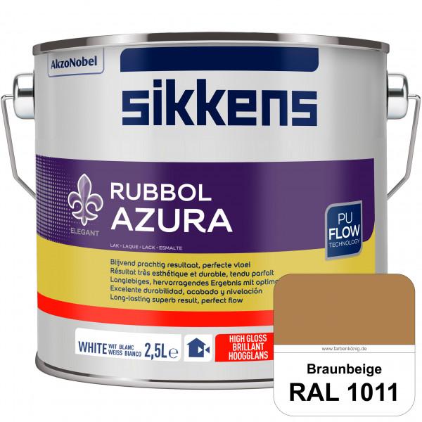 Rubbol Azura (RAL 1011 Braunbeige) hochglänzender Lack (löselmittelhaltig) innen & außen