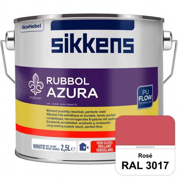 Rubbol Azura (RAL 3017 Rosa) hochglänzender Lack (löselmittelhaltig) innen & außen