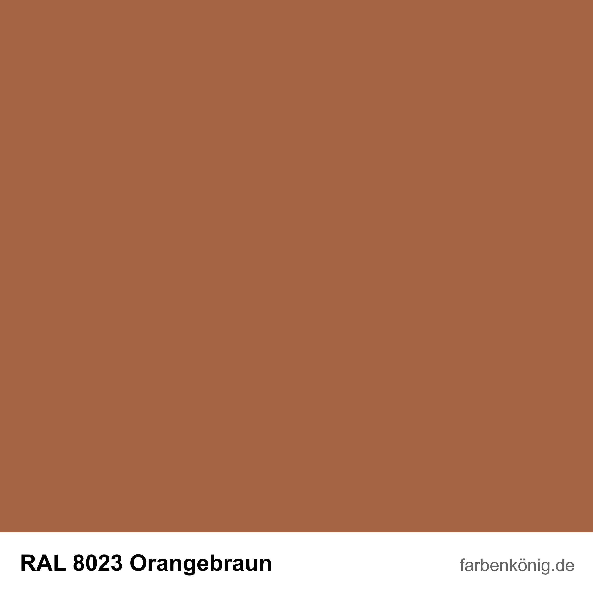 RAL8023