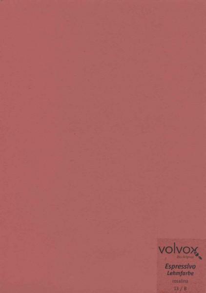 Volvox Espressivo Lehmfarbe - rosalina