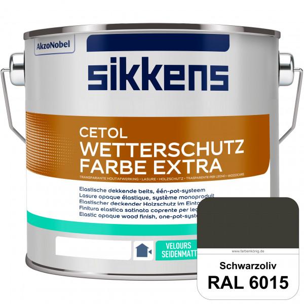 Cetol Wetterschutzfarbe Extra (RAL 6015 Schwarzoliv)