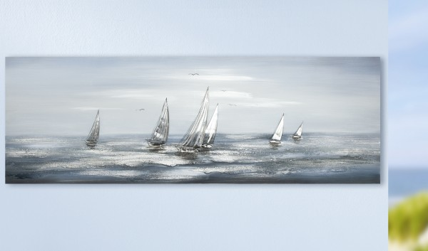 "Gemälde ""Silver Regatta"""