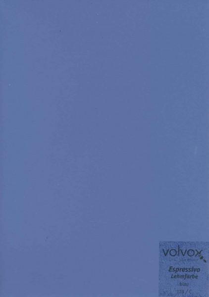 Volvox Espressivo Lehmfarbe - blau