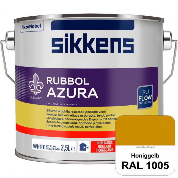 Rubbol Azura (RAL 1005 Honiggelb) hochglänzender Lack (löselmittelhaltig) innen & außen