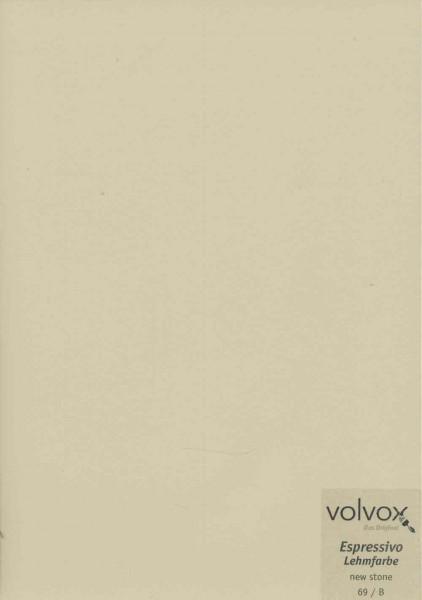 Volvox Espressivo Lehmfarbe - new stone