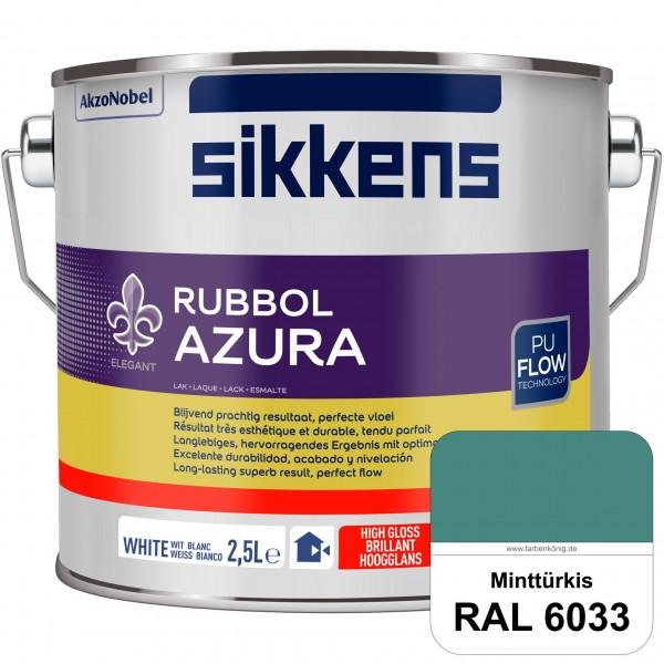 Rubbol Azura (RAL 6033 Minttürkis) hochglänzender Lack (löselmittelhaltig) innen & außen