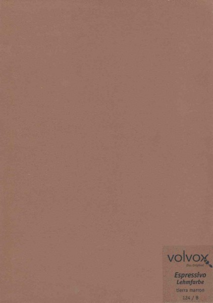 Volvox Espressivo Lehmfarbe - tierra marron