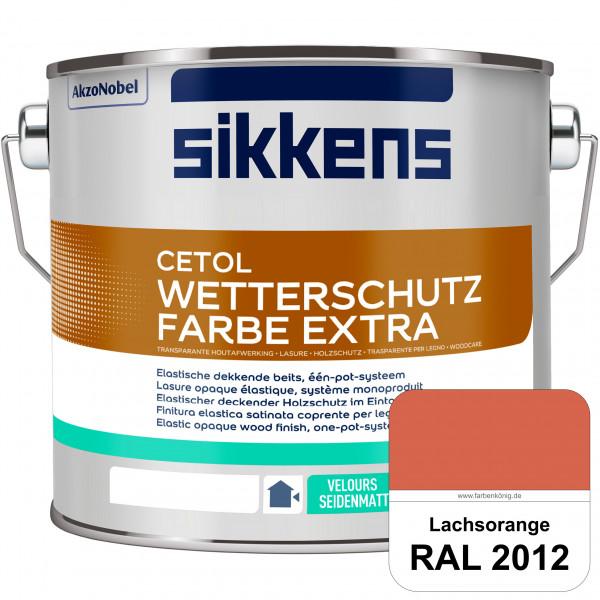 Cetol Wetterschutzfarbe Extra (RAL 2012 Lachsorange)