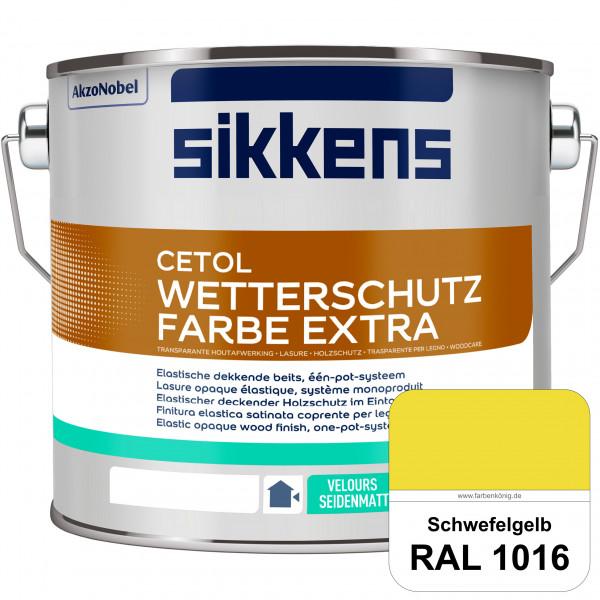 Cetol Wetterschutzfarbe Extra (RAL 1016 Schwefelgelb)