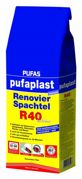 pufaplast Renovier-Spachtel R40 extrem