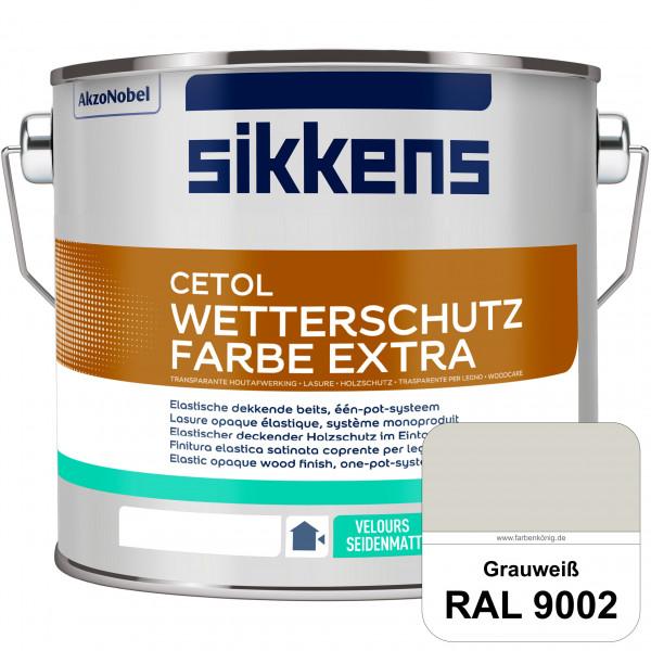 Cetol Wetterschutzfarbe Extra (RAL 9002 Grauweiß)
