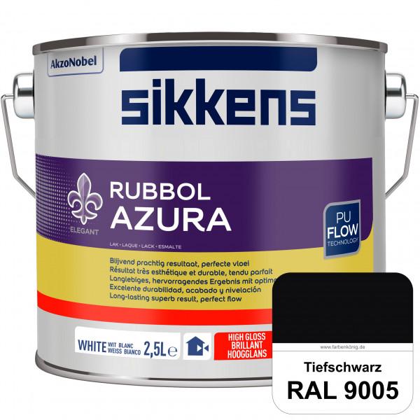 Rubbol Azura (RAL 9005 Tiefschwarz) hochglänzender Lack (löselmittelhaltig) innen & außen