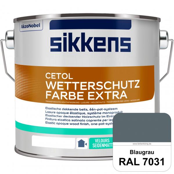 Cetol Wetterschutzfarbe Extra (RAL 7031 Blaugrau)