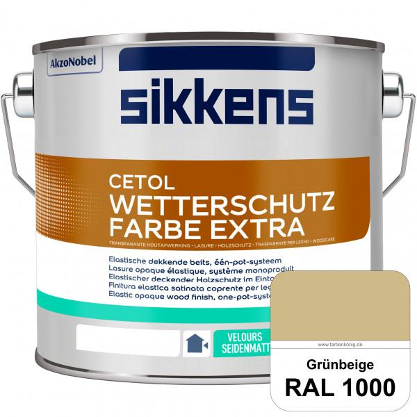 Cetol Wetterschutzfarbe Extra (RAL 1000 Grünbeige)
