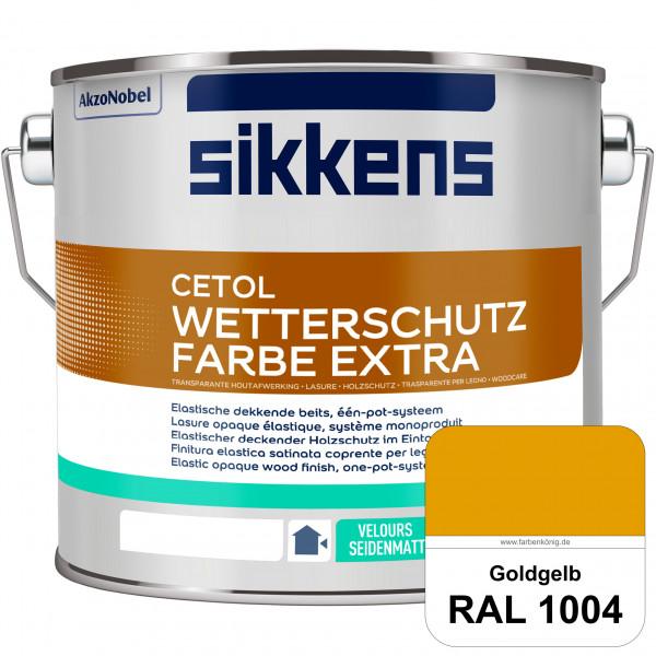 Cetol Wetterschutzfarbe Extra (RAL 1004 Goldgelb)