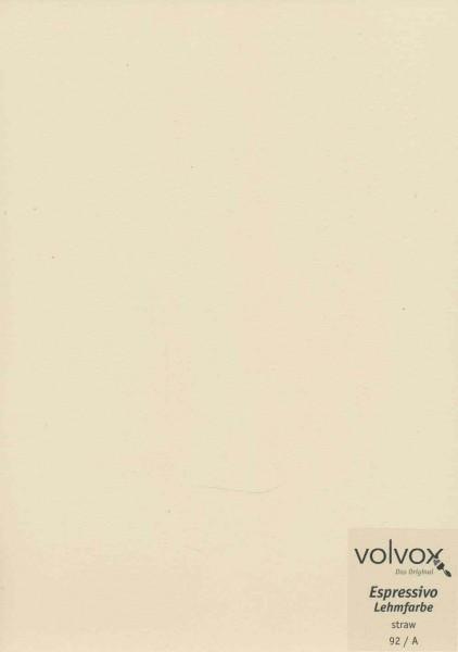 Volvox Espressivo Lehmfarbe - straw