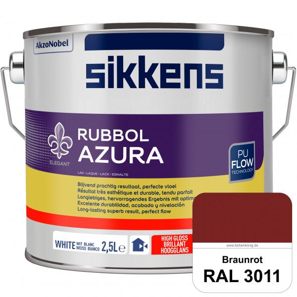 Rubbol Azura (RAL 3011 Braunrot) hochglänzender Lack (löselmittelhaltig) innen & außen