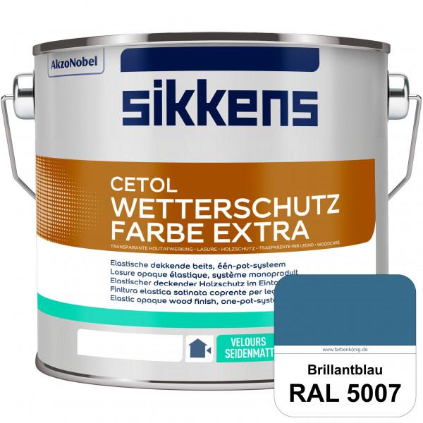 Cetol Wetterschutzfarbe Extra (RAL 5007 Brillantblau)