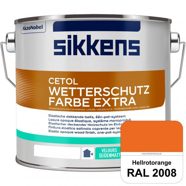 Cetol Wetterschutzfarbe Extra (RAL 2008 Hellrotorange)