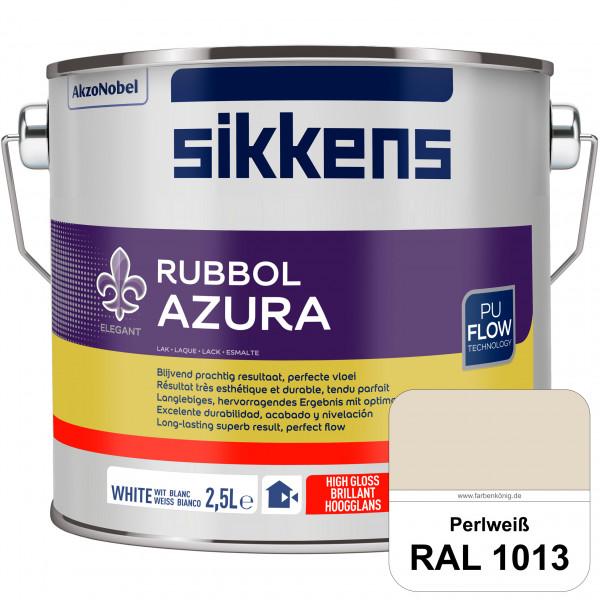 Rubbol Azura (RAL 1013 Perlweiß) hochglänzender Lack (löselmittelhaltig) innen & außen