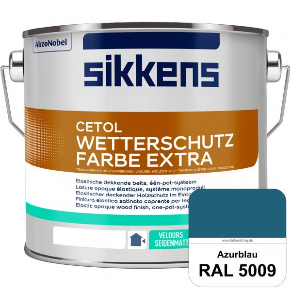 Cetol Wetterschutzfarbe Extra (RAL 5009 Azurblau)