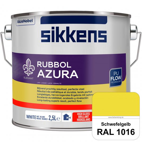 Rubbol Azura (RAL 1016 Schwefelgelb) hochglänzender Lack (löselmittelhaltig) innen & außen