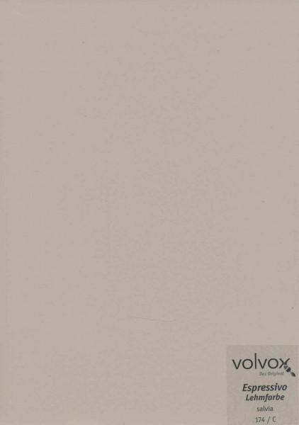 Volvox Espressivo Lehmfarbe - salvia