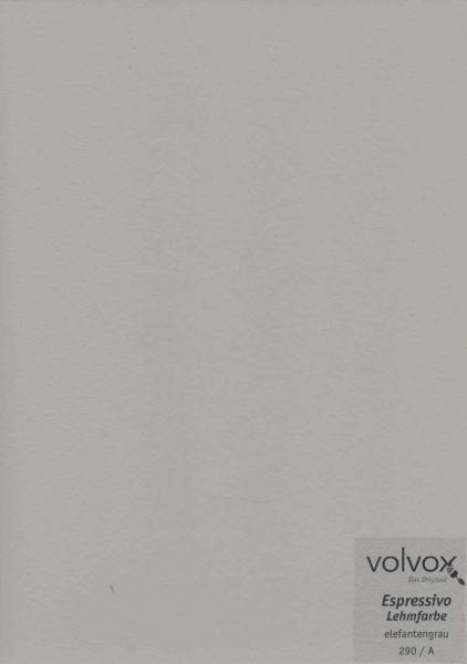 Volvox Espressivo Lehmfarbe - elefantengrau